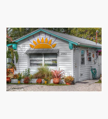Welcome to Sunset Cottage  Photographic Print