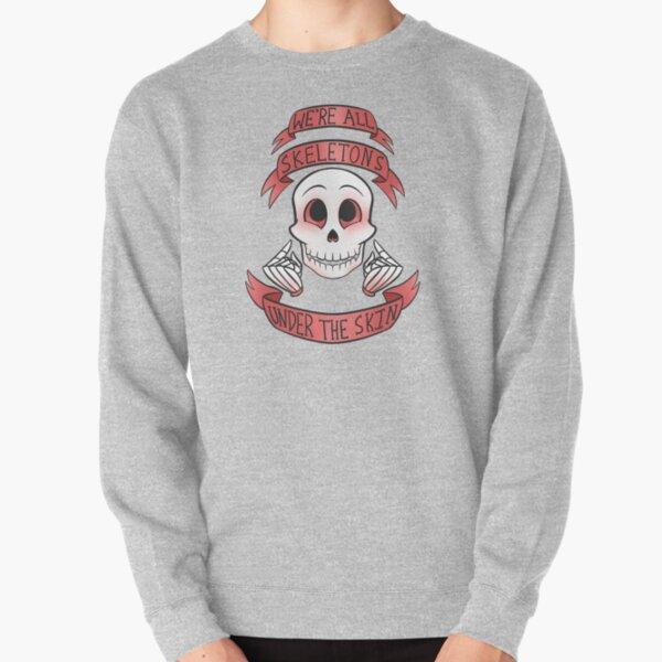 Skeletons Under The Skin Pullover Sweatshirt