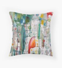 cache-cache Throw Pillow