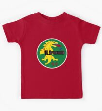 25th Fighter Squadron (red) Kids Clothes