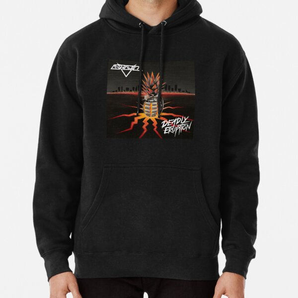 Deadly Eruption Pullover Hoodie