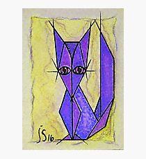 blue fox Photographic Print