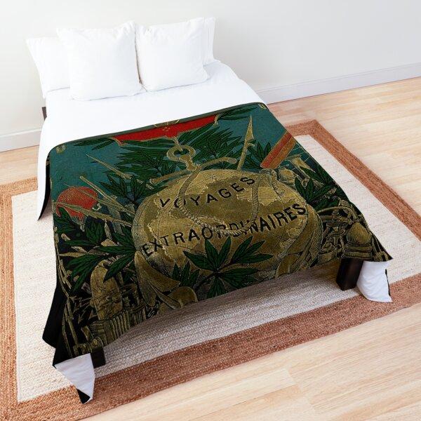 Jules Verne Extraordinary Voyages Comforter