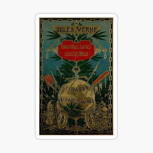 Jules Verne Extraordinary Voyages Sticker