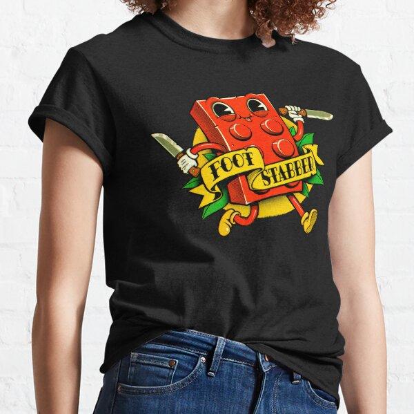 Foot Stabber Vintage Cartoon Classic T-Shirt