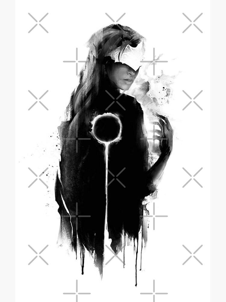 darksouls III fire keeper by jigsauce-