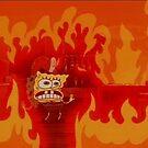 Spongebob Fire by snacksbuddy