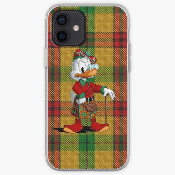 Tartan of Scrooge McDuck / MacDuck Clan iPhone Soft Case