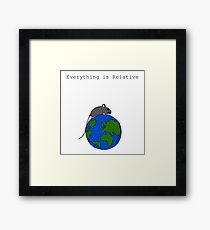 The Mouse Who Ruled The World Framed Print