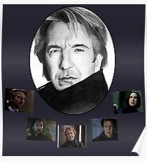 Die vielen Gesichter von Alan Rickman Poster