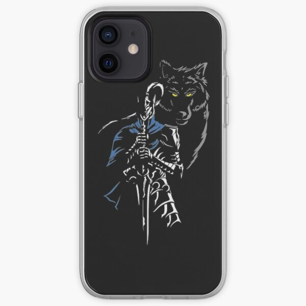 Artorias and Sif darksouls iPhone Soft Case