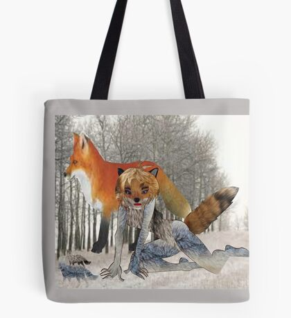 The Fox (5090 Views) Tote Bag
