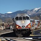 New Mexico Railrunner, November, Santa Fe, New Mexico by lenspiro