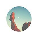 Wide Open West Balanced Rock by strayfoto