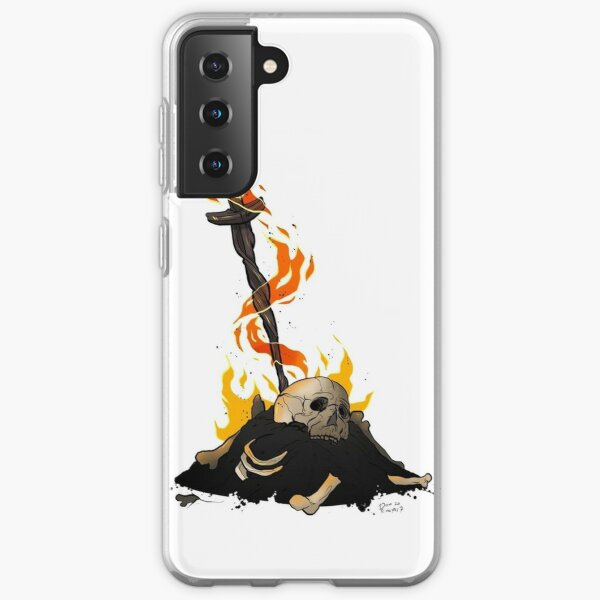 darksouls bonfire  Samsung Galaxy Soft Case