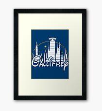 Gallifrey Framed Print