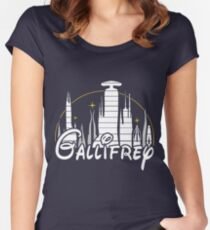 Gallifrey Women's Fitted Scoop T-Shirt