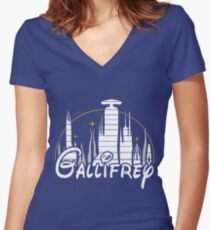 Gallifrey Women's Fitted V-Neck T-Shirt