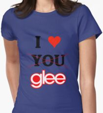 I love glee - Valentine's day special Womens Fitted T-Shirt