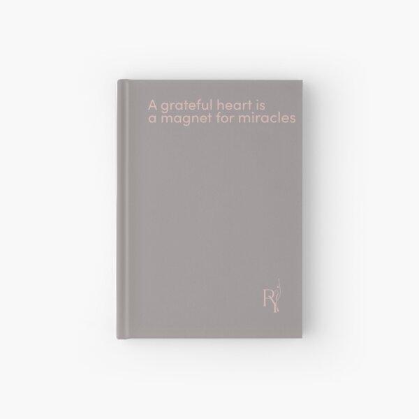 Gratitude Journal Grey Hardcover Journal
