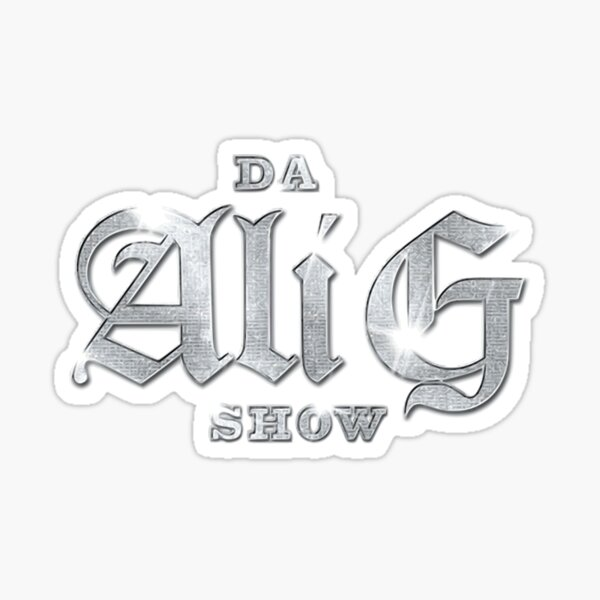 Ali G Show Logo Pegatina
