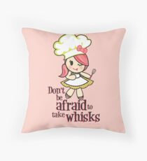 Take Whisks!!! Throw Pillow