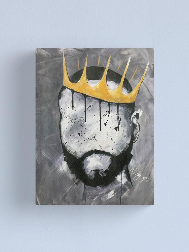 Alternate view of Naturally King Canvas Print