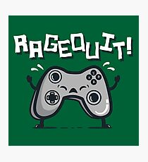 Ragequit Photographic Print