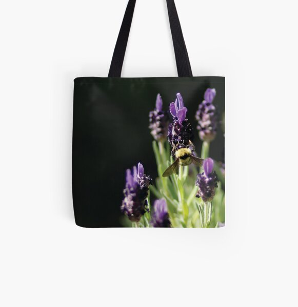 Busy Bee All Over Print Tote Bag
