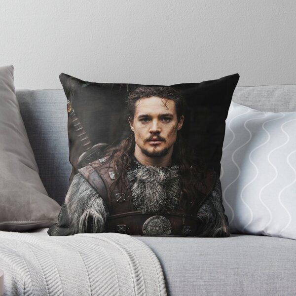 Uhtred of Bebbanburg The Last Kingdom netflix series Throw Pillow
