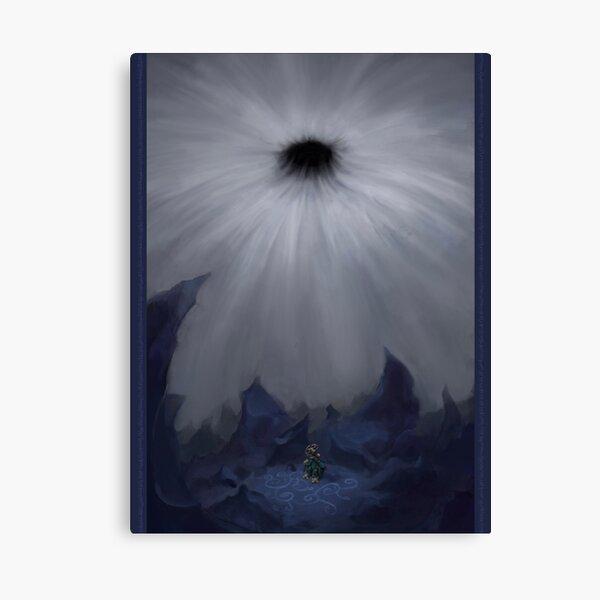 Quantum Moon Canvas Print