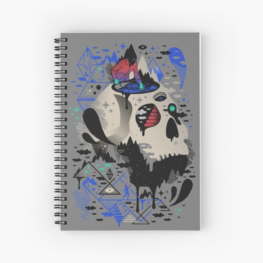Mechanical Dawn Spiral Notebook