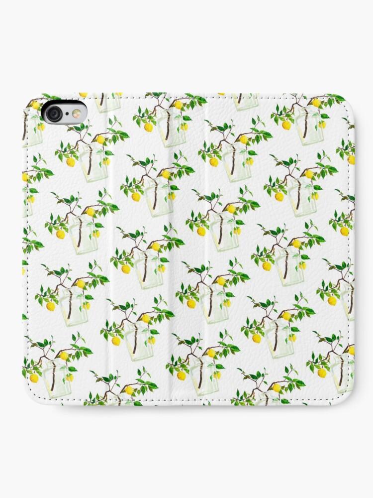 Alternate view of Lemon Tree iPhone Wallet