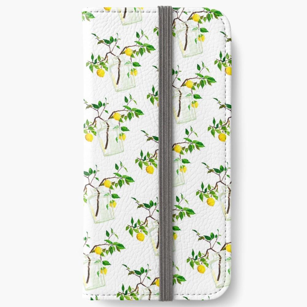 Lemon Tree iPhone Wallet