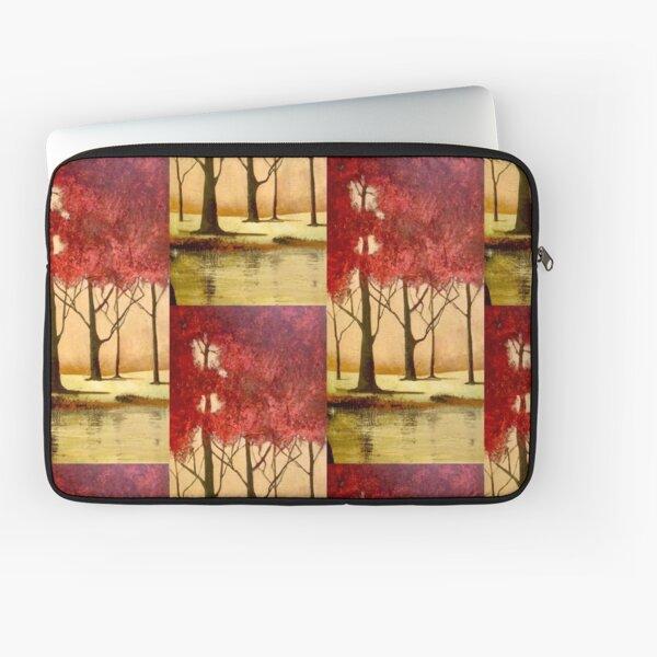 Red autumn. Laptop Sleeve