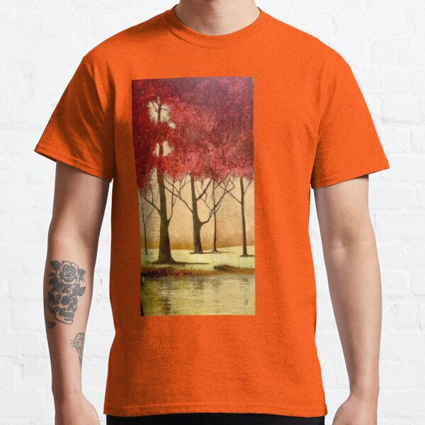 Red autumn. Classic T-Shirt