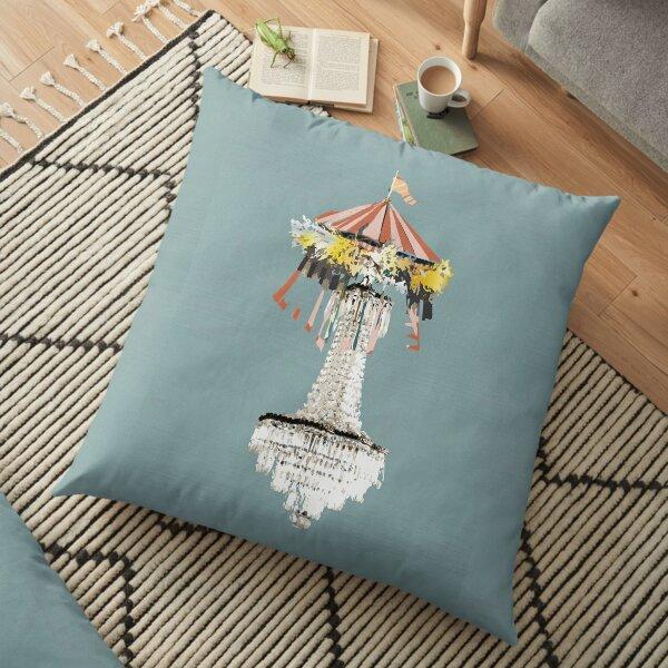 Illuminated Circus Floor Pillow