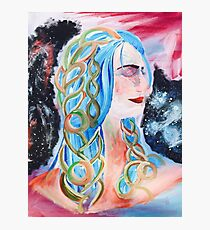 """Home"" Surreal Woman/Pleiades/Orion Photographic Print"