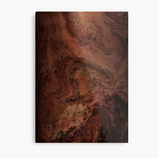 Redwood Burl Metal Print