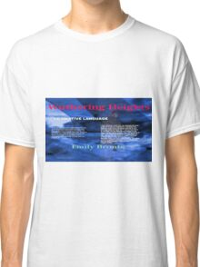 Wuthering Heights Figurative Language Classic T-Shirt