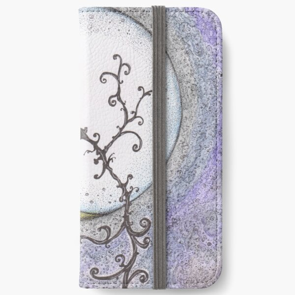 """""""Lonely Night"""" illustration by SDMcGrath iPhone Wallet"""