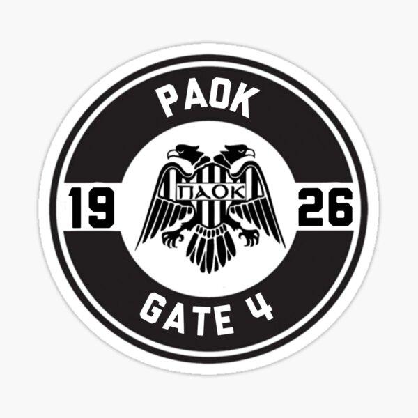 PAOK Gate 4 Sticker
