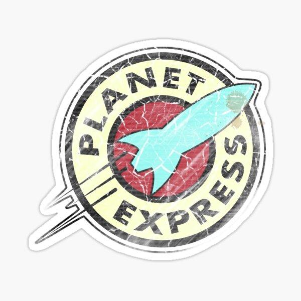 Planet Express - Vintage Pegatina