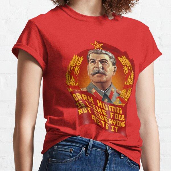 Travailleur avertissement soviétique russe la propagande communiste unisexe t-shirt toutes les tailles