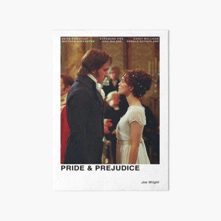 Orgullo y prejuicio 2005 Lámina rígida