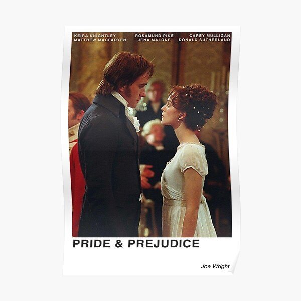 Orgullo y prejuicio 2005 Póster