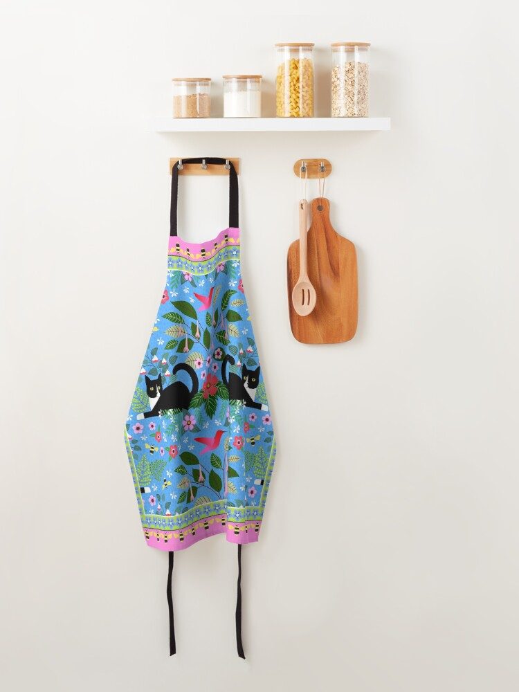 Alternate view of Katie and the Hummingbird Apron