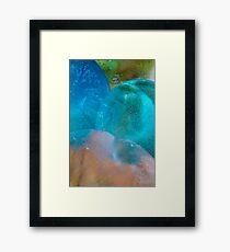 Coloured Ice Creation Print #1 Framed Print