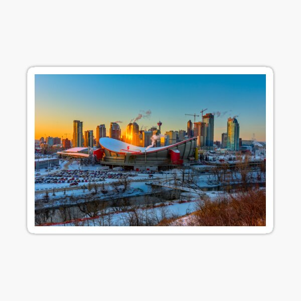 Calgary in the Cold Sticker