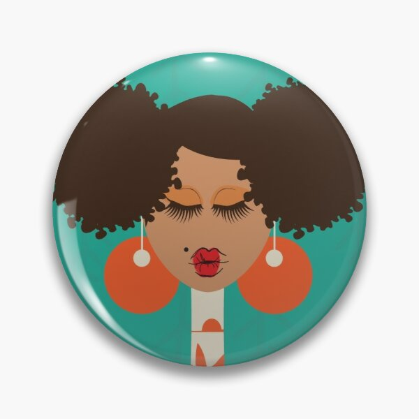 All About the Puffs Pin
